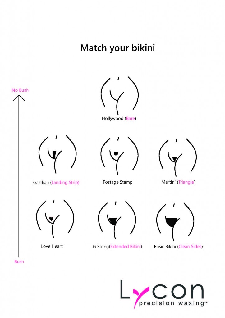 bikini wax before and after pictures photos