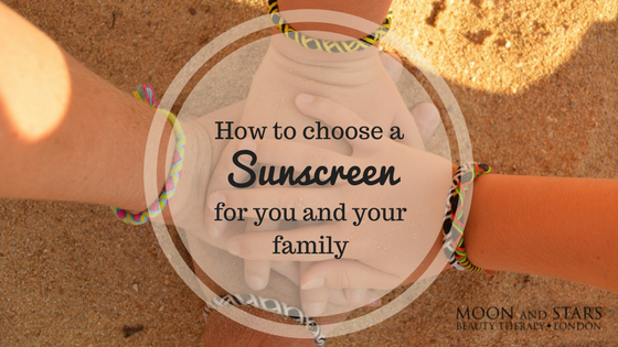 Sunscreen for your family